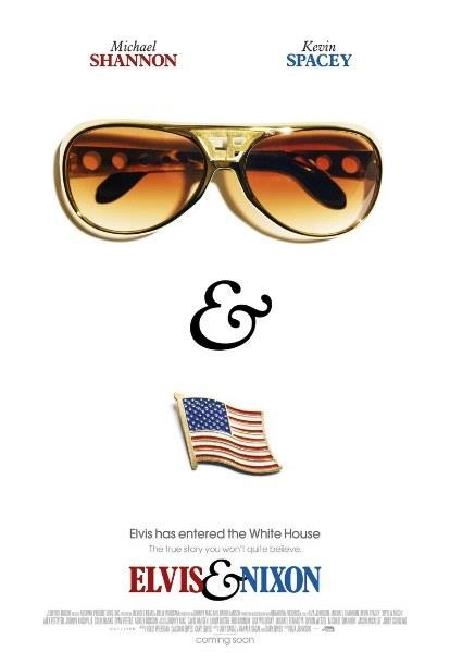 Elvis & Nixon - Elvis and Nixon  Rock 'N Roll kralı Elvis Presley (Michael Shannon) ile Amerikan Başkanı Richard Nixon'ın (Kevin Spacey) 21 Aralık 1970 günü Beyaz Saray'ın Oval Ofisi'nde gerçekleştirdiği görüşmenin perde arkasında yaşananlar, biraz da mizahi bir bakış açısıyla filmde anlatılıyor.