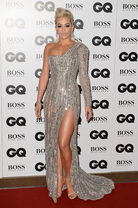 5. Rita Ora  Vücut Ölçüleri Oranı: 1.504 Altın Orana Yakınlığı: 93%