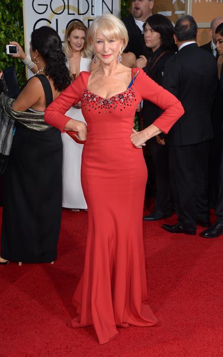 3. Helen Mirren  Vücut Ölçüleri Oranı: 1.546 Altın Orana Yakınlığı: 95.6%  Zamansız güzel Helen Mirren listede üç numarada!
