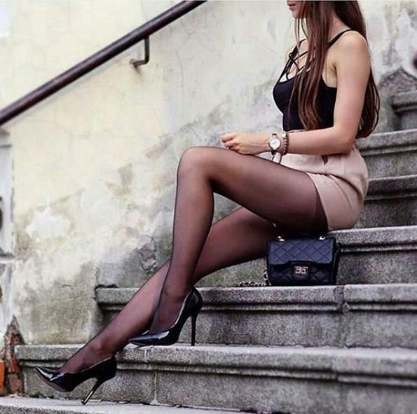 Opak Siyah Çorap