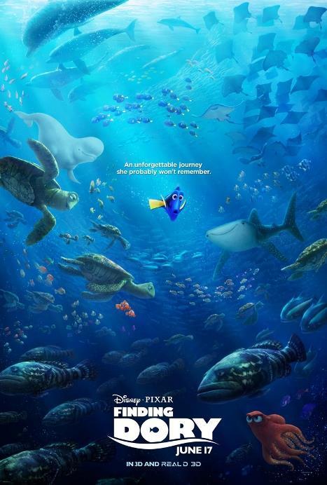 Kayıp Balık Dori - Finding Dory  Kayıp Balık Dori filmi kimsenin unutamadığı Mavi Tang balığı Dori'yi geçmişiyle ilgili bazı yanıtlar ararken arkadaşı Nemo ve Marlin'le yeniden biraraya getiriyor. 10 saniyede bir hafızası sıfırlanan Dori, sadece bir zamanlar bir ailesi olduğu ve onlardan bir şekilde ayrılmak zorunda kaldığıdır. Arkadaşlarıyla birlikte ailesini bulabilmek için uzun bir yolculuğa çıkan Dori, yol boyunca hayatla ilgili çok daha başka dersler de alacaktır.