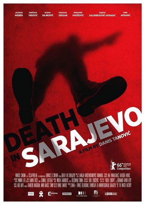 Saraybosna'da Ölüm - Smrt u Sarajevu  1. Dünya Savaşı'nı başlatarak Avrupa'nın siyasi haritasını tamamen değiştiren Avusturya veliaht Prensi Ferdinand'ın ölümünün 100. yıldönümü yaklaşırken, Saraybosna'daki Hotel Europa'da Birleşmiş Milletler'in çok önemli bir toplantıya ev sahipliği yapmaya hazırlanmaktadır. Ancak otelin büyük borçları vardır, bankalar kredi vermemektedir ve 2 aydır paralarını alamayan çalışanlar greve gitmek üzeredir. Otel müdürü Ömer (Izudin Bajrovic), bu önemli olay öncesi grevi engellemek için kaba kuvvet dahil her türlü yöntemi denemeye kararlıdır. Tek bir otelde geçen filmde farklı hayatlar ve bakış açıları iç içe geçiyor.