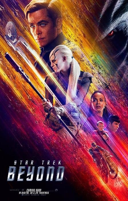 Star Trek Sonsuzluk - Star Trek Beyond  Atılgan gemisinin mürettebatı, 5 yıllık görevlerinin 3. yılını geride bırakmışken kendilerini uzayın derinlerinde ıssız bir bölgede bulur. Atılgan büyük hasar almış, Kaptan Kirk (Chris Pine) ve arkadaşları dünyayla hiçbir haberleşme imkanı olmaksızın çaresiz kalmıştır. Üstelik burada yepyeni ve çok güçlü bir düşmanla yüz yüze gelirler. Federasyonun temsil ettiği tüm değerler, güçlü düşman karşısında zorlu bir sınava tabi tutulacaktır. JJ Abrams'ın Star Trek serisinin 3. filmi Star Trek Beyond, filmin çekimlerinden kısa bir süre sonra hayatını kaybeden Anton Yelchin'in son filmlerinden bir tanesi oldu.