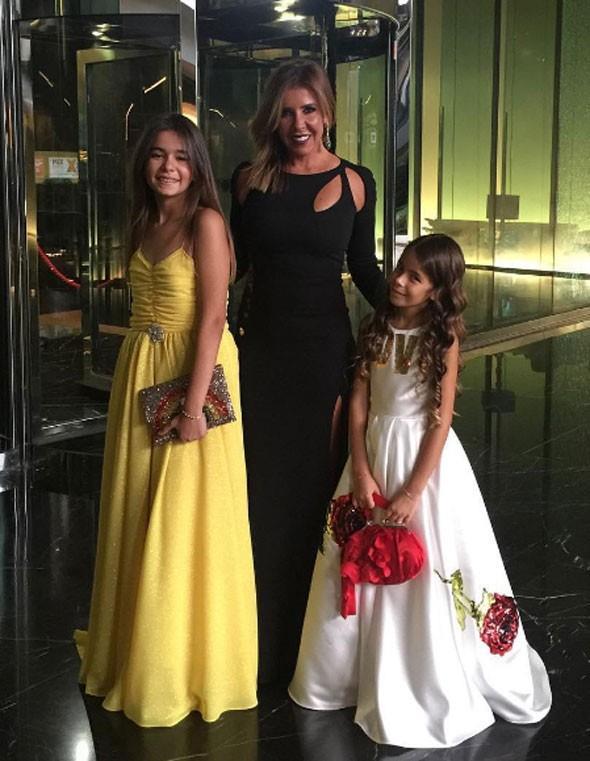 Törene Acun Ilıcalı'nın geçtiğimiz aylarda boşandığı eşi Zeynep Ilıcalı ve kızları da katıldı.