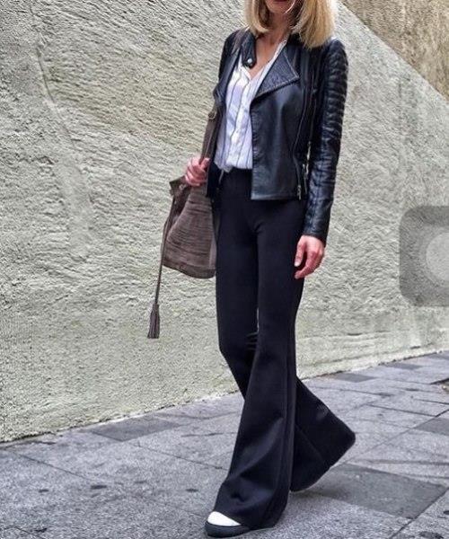 Ayrıca bacak boyunuzu uzun göstermek adına bu tip pantolonları seçebilir, üzerine uzun ya da kısa ceketlerle kombininizi tamamlayabilirsiniz.