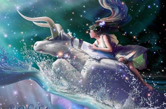 Taurus / Bull / Boğa (21 Nisan-21 Mayıs)   Tanrı Zeus Boğa kılığına girerek Prenses Avrupa'yı Girit Adası'na götürmeye kalkışır. Boğa denizde yüzerek Avrupa ile birlikte kıyıdan uzaklaşırken sadece vücudunun yarısı görünür, onun için de gökyüzünde yarım boğa şeklindedir.