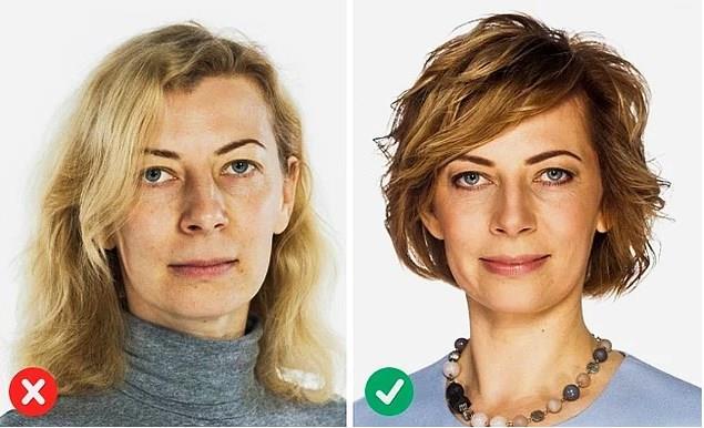 1.Katlı saç kesimi  Kendinizi daha genç göstermek için daha kısa ve daha katlı modelleri tercih etmelisiniz. Yüzün alt kısmını ve boynu gösteren modeller her zaman daha canlı gösterir.  Kaynak fotoğraflar: Pinterest, Google Ücretsiz