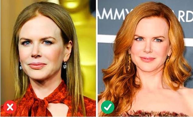 4. Eğer uzun tercihinizse dolgun durmasına özen gösterin Fazla düz ve sönük görünen saçlar kadını daha yaşlı gösterebilir. Fazla abartıya kaçmadan doğal bir dolgunluk seviyesi yakalamak gerekiyor. Çok olmamak kaydıyla saç spreyi kullanılabilir ve hafif dalgalı modeller tercih edilebilir.