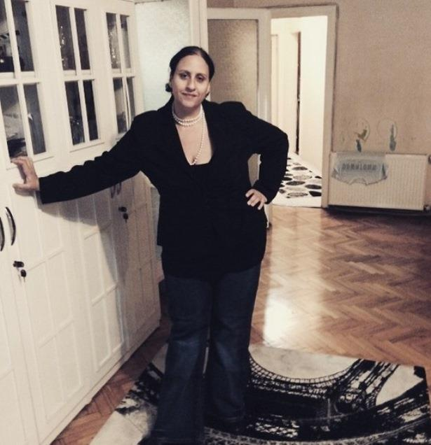 """Zayıflama sürecini, """"Mutlubir zayıflama süreci içerisindeyim ve devam ediyorum"""" cümlesiyle tanımlayan Şeyla Halis, bir yılda 40 kilo verdi."""