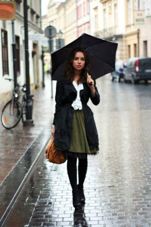 İşte yağmurlu havalarda giyebileceğiniz en güzel kombin örnekleri...