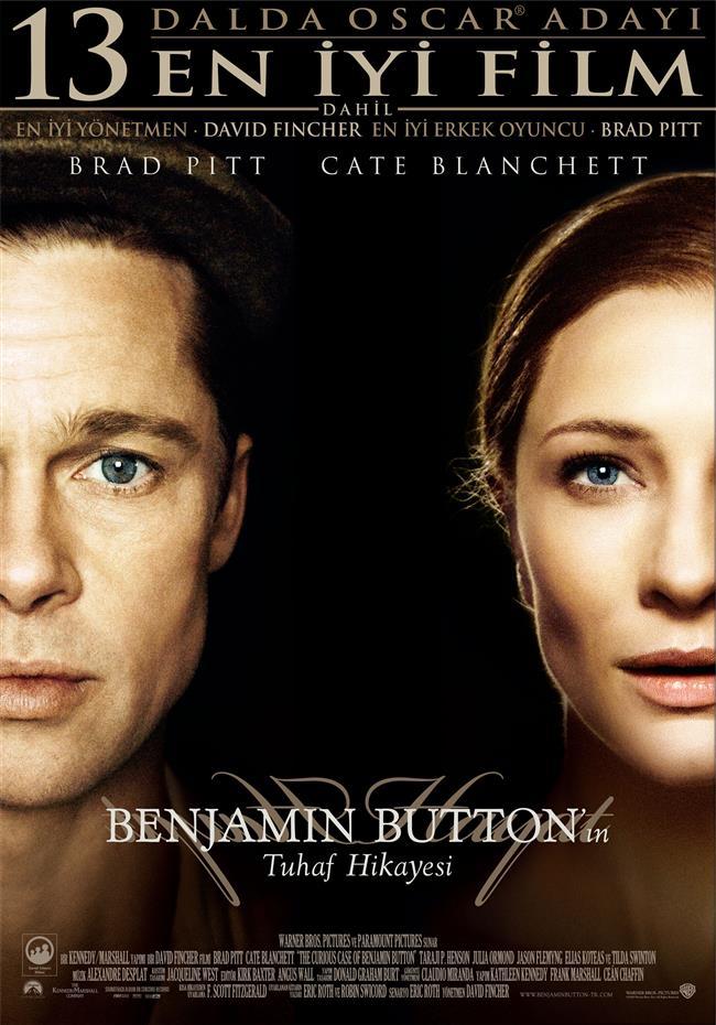 Aranızdaki Bağı Kuvvetlendirecek Filmler   Benjamin Button'ın Tuhaf Hikayesi