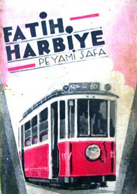 8)Fatih Harbiye/ Peyami Safa (1931)   Fatih-Harbiye, Peyami Safa tarafından kaleme alınan, 1931 yılında basılan roman. Yazar romanında modern bir hayatla ve eski değerlere bağlı bir hayat arasında bocalayan Neriman'ın hikayesini anlatmaktadır.