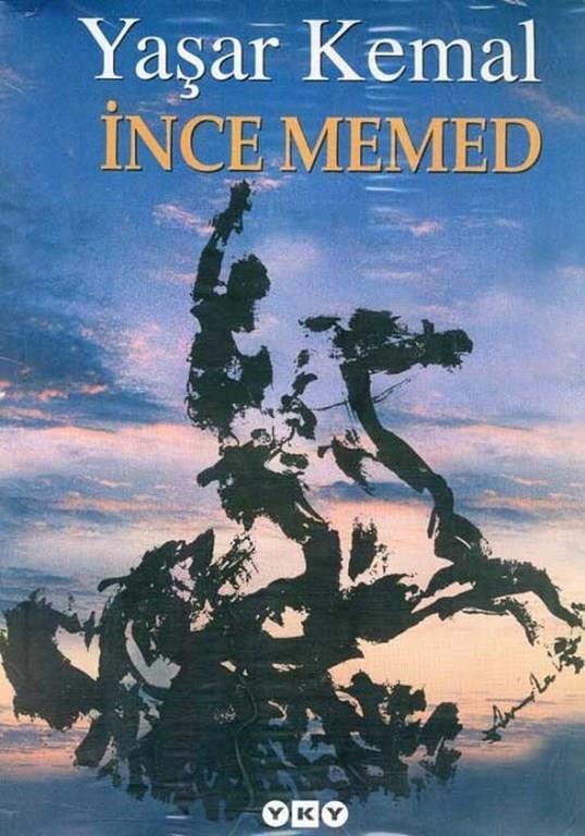 7)İnce Memed/ Yaşar Kemal (1955)   İnce Memed'in konusu, Cumhuriyet döneminin ilk yıllarında geçer. Anadolu halkının geri kalmışlığı, cahil bırakılmışlığı, köy hayatının sefaleti ve ağaların tüm yöreye tamamen hakim olması üzerine bu duruma karşı bir isyan öyküsüdür.