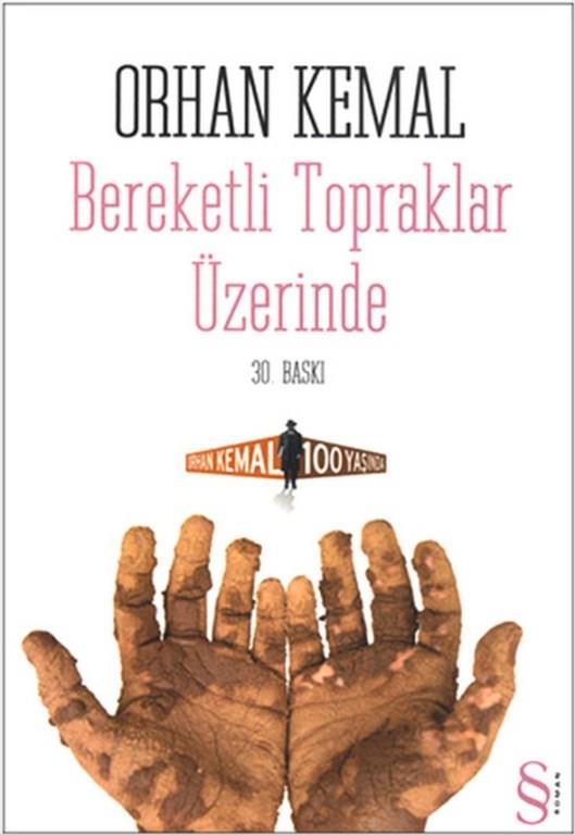 """12)Bereketli Topraklar Üzerinde/ Orhan Kemal    Türk edebiyatının önde gelen romancılarından Orhan Kemal'in başat yapıtı olarak kabul edebileceğimiz romanı """"Bereketli Topraklar Üzerinde"""", köylülük, işçi sınıfının durumu, anlatılan insanların sosyal ve bireysel ilişkileri, emek-sermaya çelişkisi üzerine güçlü gözlemler sunan yapıtıdır. Romanın ilginç bir özelliği ise 1954 yılında yapılan birinci baskısı 288 sayfayken 10 yıl sonraki ikinci baskısında 427 sayfaya çıkmış, roman Orhan Kemal tarafından âdeta yeniden yazılmıştır."""