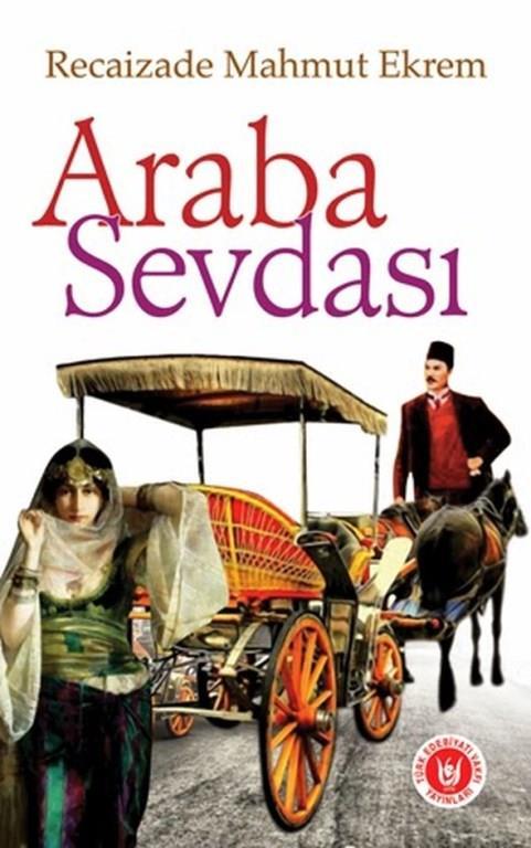 16)Araba Sevdası/ Recaizade Mahmut Ekrem (1898)   Araba Sevdası, Recaizade Mahmud Ekrem'in 1898 yılında yayımlanan romanıdır. 1889 yılında yazılan eser, Türk edebiyatında ilk realist roman örneği olarak kabul edilmektedir.Bihruz Bey tam da dönemin burjuva gençliğinin olması gerektiği gibi Fransız kültürüne hayran züppe bir gençtir. Ona göre Türkçe kaba ve yetersiz bir dildir. Türkler kaba ve medeniyetten yoksun insanlardır. Türkçe gerekmediği sürece konuşulmamalıdır. Ama o dönem yüksek memur ve tüccar çocuklarının genelinde olduğu gibi Fransızcaya da hakim değildir ve Türkçe Fransızca karışımı bir dil ile konuşur.   Ayrıca Bihruz Bey mirasyedi bir gençtir ve hayatı lüks alafranga kıyafetler ısmarlamak, kır kahvelerinde ve mesire yerlerinde lüks arabasıyla gezmekten ibarettir. Yine Bihruz Bey'in diğer bir karakteristik özelliği ise istediği her şeye sahip olması ve bunun verdiği şımarıklığın pençesinde olmasıdır ki hikâyenin ana kısmı da biraz da bu konu üzerinden gelişir.
