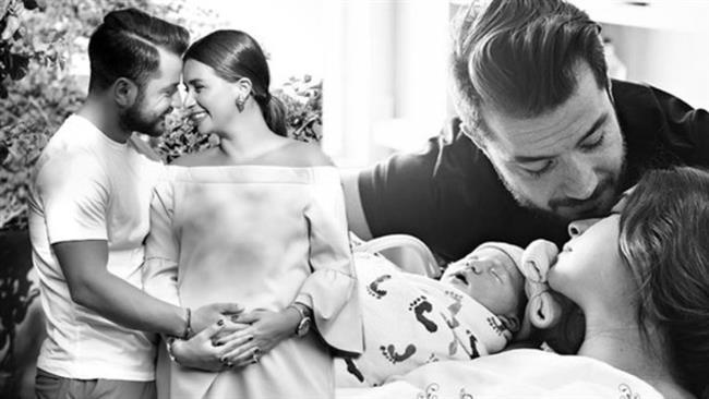 2014 yılında Volkan Bahçekapılı ile nikah masasına oturan Buse Terim anne oldu.