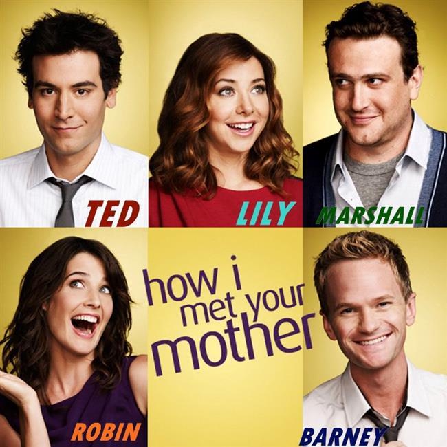 """How I Met Your Mother  Dizi, 2030 yılında, Ted Mosby'nin çocuklarına anneleri (kendi eşi) ile nasıl tanıştığını anlatmasıyla başlar. Bob Saget'in seslendirmesiyle asıl karakteri Ted """"Size annenizle nasıl tanıştığımı anlatacağım."""" der ve dizi 2005 yılına döner. Bays ve Thomas dizideki arkadaşlığı kendi arkadaşlıklarından yola çıkarak yazmışlardır. Buna göre Ted karakterinde daha çok Bays öne çıkarken Marshall ve Lily karakterleri ise Thomas ve eşinden esinlenilmiştir."""