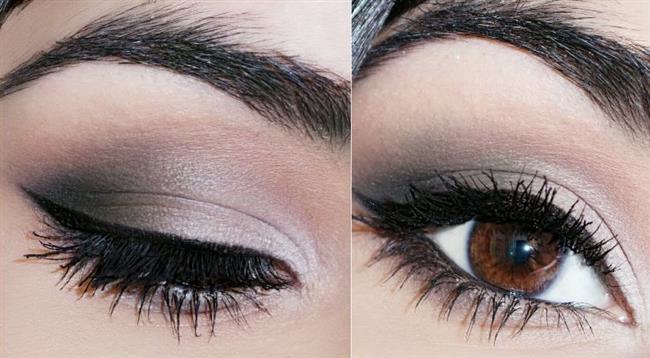 Dumanlı göz makyajı, gözlere ışıltılı ve etkileyici bir görünüm verir.Kadınların  en çok kullandığı göz makyajı stilidir.