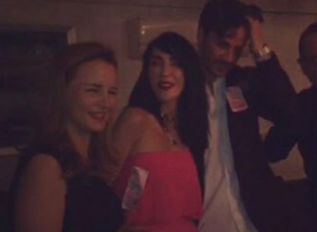 İşte Hande Yener ve Cem Şenol'un nişanından fotoğraflar...