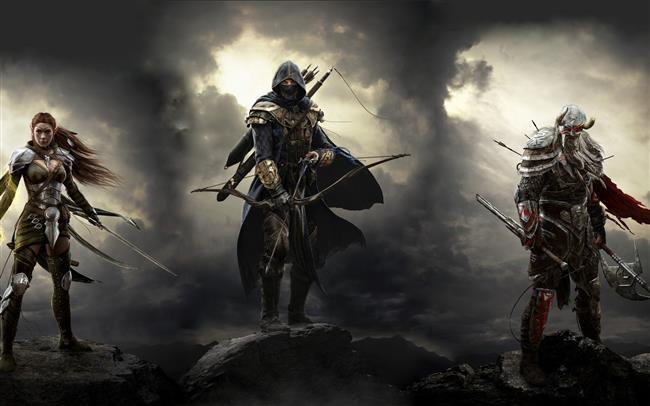 ELDER SCROLLS ONLINE   Kendi karakterinizi yaratıp bambaşka bir evrende maceradan maceraya atılacağınız bir oyun Elder Scrolls Online.