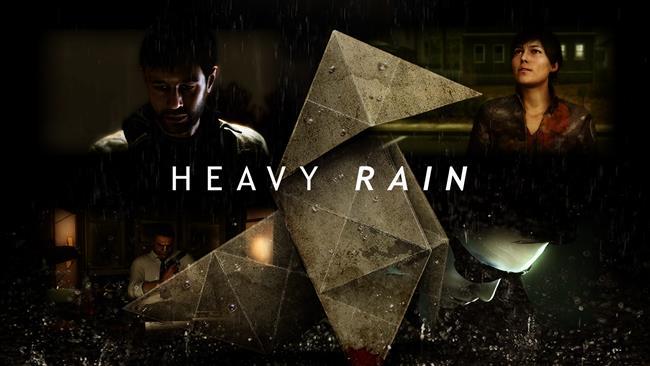 HEAVY RAIN  Oğlu Jason'ı kurarmak için yola çıkan mimar babanın hayatı sizlerin elinde.Oğlunu kurtarabilmesi için çeşitli zorluklarla uğraşmak zorunda kalan Ethan Mars'ın gerilim dolu macerasının hikaysesini siz yazıyorsunuz. Heyecanla aceleci davranıp olabilecek en kötü ve üzücü sonla oyunu kısa bir sürede bitirmek ya da küçük Jason'ı babasıyla ikisi de sağlıklı , eski mutlu günlerine dönebilecek kadar mutlu bir şekilde kavuşturmak sizin elinizde.