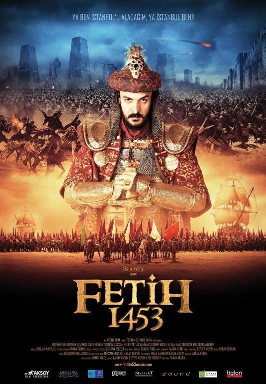 """3-Fetih 1453  Sosyal medyada filmin üç dakikalık fragmanı 24 saatte 1.670.000 kişi tarafından izlenmiştir.16 Şubat 2012'de saat 14:53'ten itibaren 450 kopya ile 900 salonda gösterimine başlanan film ilk gününde 300.000 biletli seyirci tarafından izlenmiştir.18.200.000$'lık bütçesiyle en pahalı Türk filmi olma özelliğini taşımaktadır.  Gösterim Tarihi: 17 Şubat 2012 Seyirci Sayısı: 6.572.618 kişi Gösterim Süresi: 52 hafta  <a href= http://mahmure.hurriyet.com.tr/foto/yasam/2017nin-merakla-beklenen-filmleri_41100    style=""""color:red; font:bold 11pt arial; text-decoration:none;""""  target=""""_blank"""">2017'nin Merakla Beklenen Filmleri İçin Tıklayınız!"""