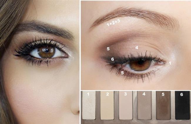 Bunları yapın!   *Siyah ya da kahverengi bir göz kalemi kullanarak, gözlerinizi olduğundan daha büyük gösterebilirsiniz. Bunun için, kalemle alt ve üst göz kapaklarınızın ortasından başlayarak düzgün bir çizgi çekin.  * Far olarak, pudra şeklindeki mat farları tercih edin. Eğer gözleriniz kahverengiyse, koyu mavi, koyu yeşil, ya da altın rengi farları kullanabilirsiniz. Mavi gözler için en ideal renkler ise kahverengi veya gri. Yeşil gözler için de kahverengi ya da açık mor renkleri öneriyoruz.