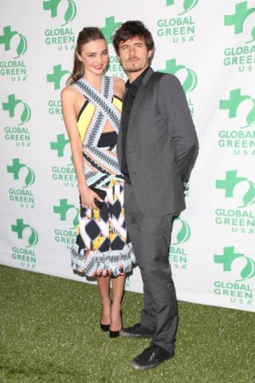Miranda Kerr  Miranda Kerr da aktör Orlando Bloom ile evlendiğinde oğlu Flynn'a hamileydi.