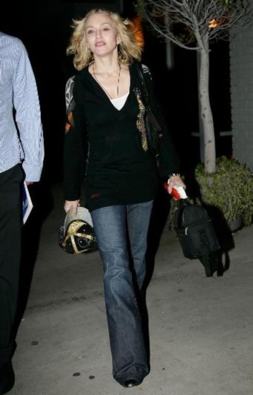 Madonna da çok önemsemiyor makyajlı ya da makyajsız olmayı.