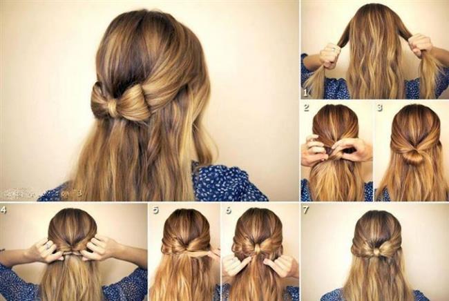 Yarım Toplu Saç    Derli toplu bir görünüm için yarım toplu saçları tercih edebilirsiniz. Bu hoş model ile kıvırcık ve kabarık saçlı kadınlar saçlarını kontrol altına alabilirken, üzerinde ufak değişiklikler yaparak klasik görünümden uzaklaşabilirler.
