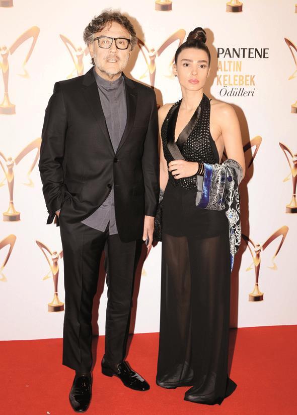 Abdullah Oğuz ve Mehrnoush Esmaeilpour   Pantene Altın Kelebek Ödül Töreni , Pantene Altın Kelebek Ödülleri ,