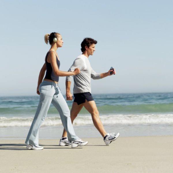 Hafif bir yürüyüş = 1 saatte 255 Kalori