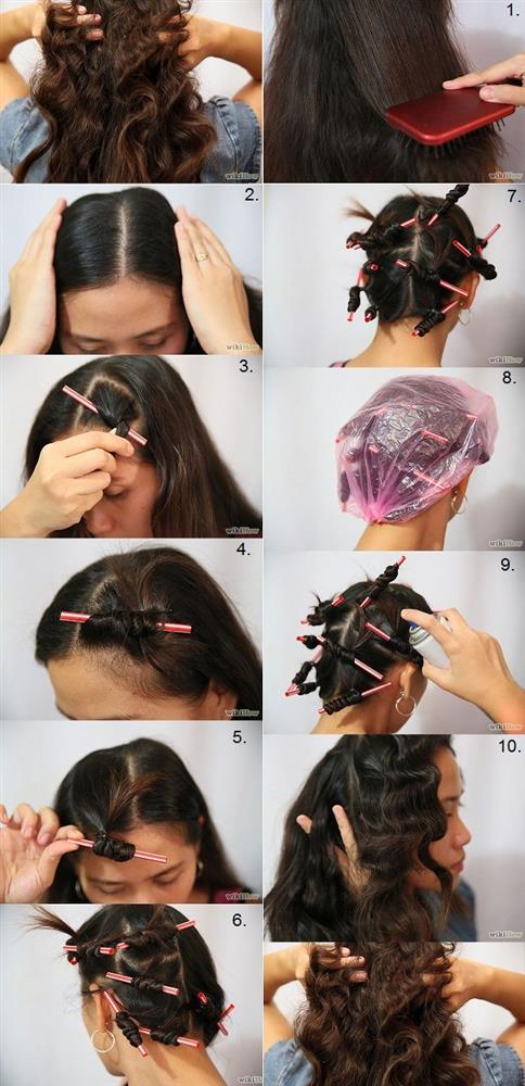 6.Pipet İle Dalgalı Saçlar Yapın  Bu yöntem biraz farklı, belki biraz da uğraştırıcı bir yöntem. Fakat sonuç tek kelimeyle harika! İstediğiniz incecik, spiral şeklinde bukleler ise bu yöntem tam size göre.  Nasıl Yapılır?  -Hafif nemli saçlarınızı küçük tutamlara ayırın ve pipetlere sarın.  -Saçlarınızı sardıktan sonra pipetlerin uçlarını kıvırarak tel toka ya da pens ile sabitleyin.  -Birkaç saat sonra kıvır kıvır, harika saçlarınız olacak.