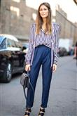 Yüksek Bel Pantolon Kombin Önerileri - 9