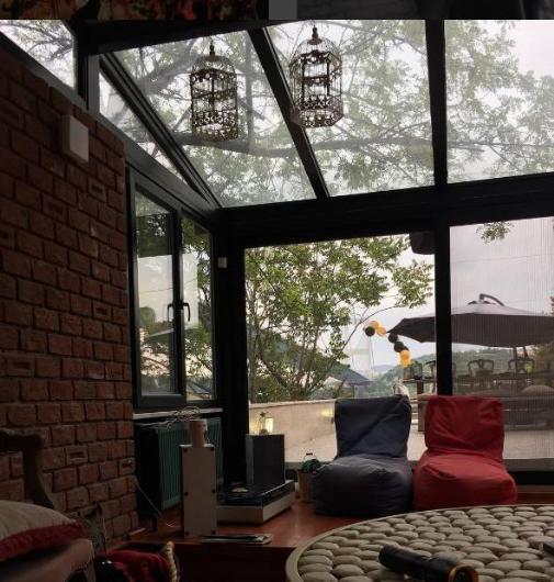 Bu fotoğrafı yağmurlu bir günde Kobal çekip paylaştı