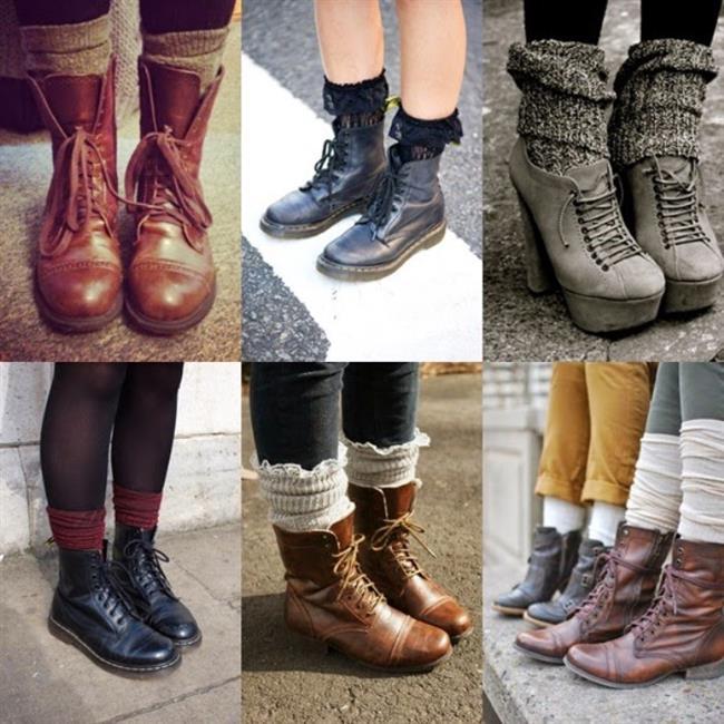 Bot İçine Uzun Çorap   En değişik tarzlardan bir diğeri ise botlardan görünen çorap giymektir. Fakat stil olacağım diye birbirine zıt renkler tercih ederek fiyasko yaratmamaya dikkat etmeniz gerekir.