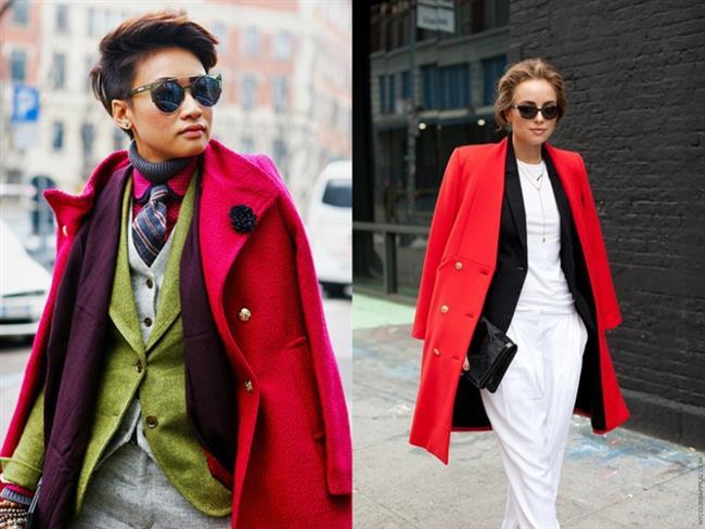 Kontrast Renkler   Kontrast renkleri bir arada kullanmak, kat kat giyinmenin temel kurallarından bir diğeri.Stilinizi yansıtmak için farklı renk ve desenleri bir arada kullanmayı deneyin