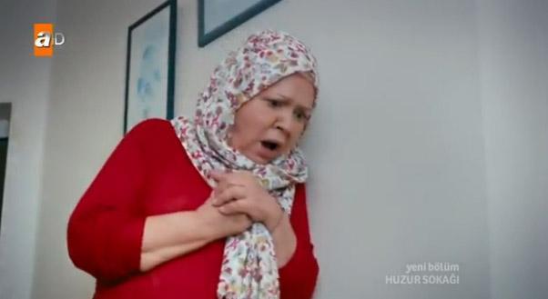 O oyuncu Fatma Karanfil.