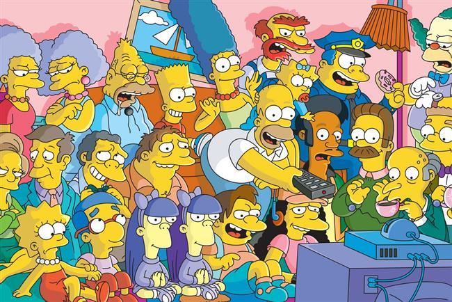 South Park, American Dad, Family Guy gibi sevilen dizilerin de olduğu ankette en sevilen çizgi dizi 584 kişiden %54'ünün verdiği oyla The Simpsons oldu.