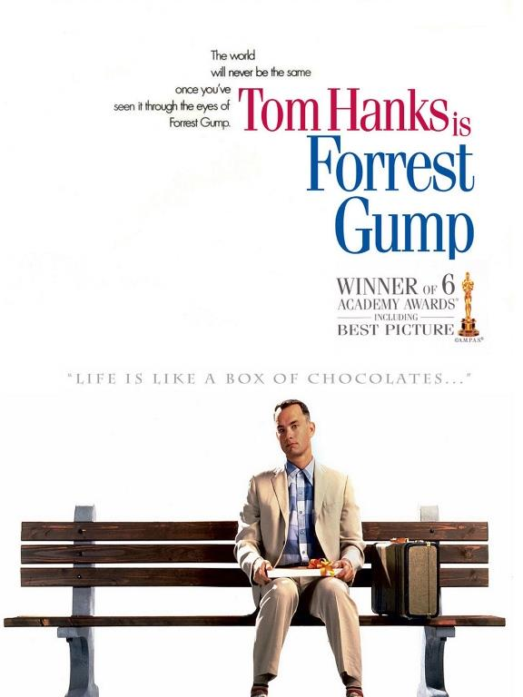 3-Forrest Gump IMDB (8.8)