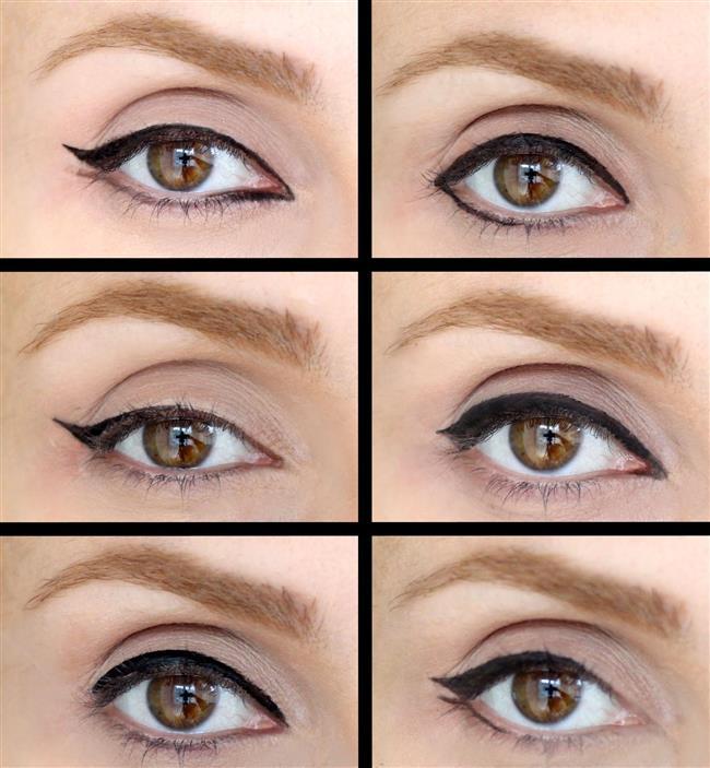 Göz şekli ve makyajı