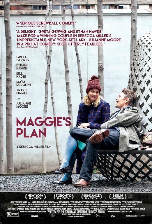 Kördüğüm (Maggies Plan)    New York'ta yaşayan Maggie (Greta Gerwig) genç ve hayatındaki tüm kararları kendisi alan bağımsız bir kadındır. Evlenmeden çocuk sahibi olmaya karar verdikten sonra eski bir arkadaşı olan Guy (Travis Fimmel) da yardım etmeyi kabul etmiştir. Ancak bu sıralarda tanıştığı evli antropolog John (Ethan Hawke) tüm planlarını alt üst eder. John'a aşık olan Maggie ve John'un zaten sarsılmakta olan evliliğinin sonra ermesinden bir süre sonra evlenirler. Ancak aradan geçen yıllarda Maggie John'a olan ilgisini kaybetmiştir. Maggie yepyeni bir plan yapar, amacı John ile aslında çok uygun olduklarını
