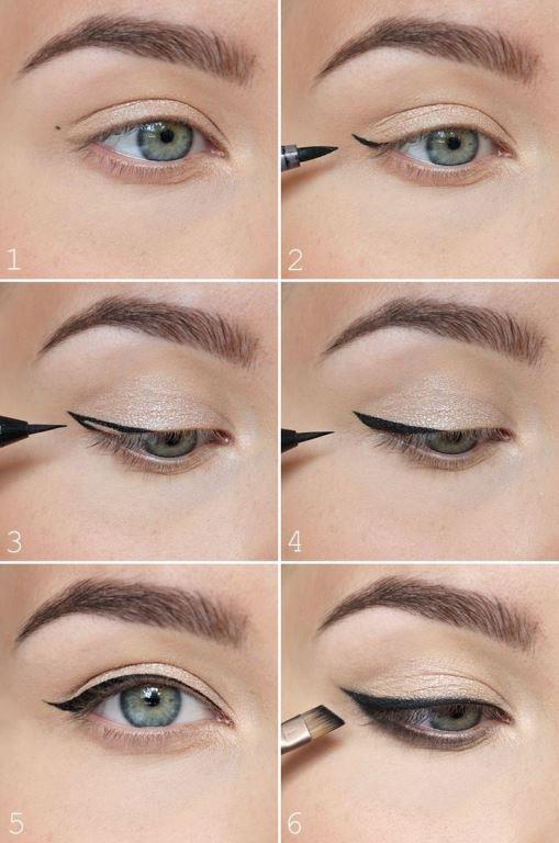 Eyeliner Vazgeçilmezimiz  Eyeliner her kadının vazgeçilmez makyaj malzemesi oldu.Göz makyajımızın en dikkat çekici ayrıntısı olan eyeliner ile selfiede oldukça elegan duracaksınız.