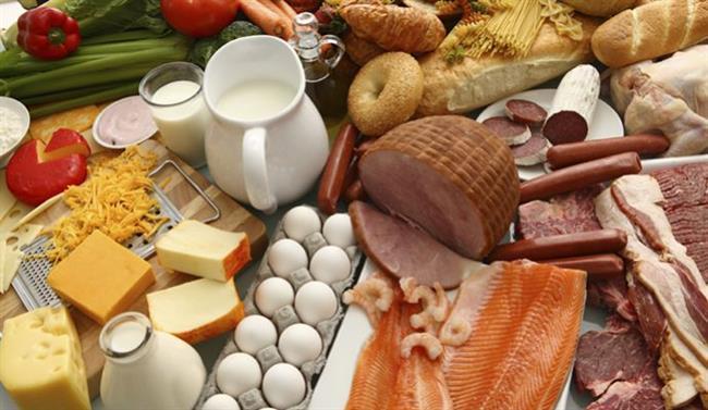 Hayvansal katı yağlar (tereyağı, kaymak, yağlı şarküteriler, yumurtanın sarısı, yağlı süt ürünleri, yağlı etler, tavuk - balık derisi, tam yağlı süt) Beyaz un Beyaz şeker