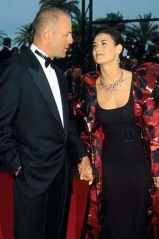 Bruce Willis ve Demi Moore... Onlar Hollywood'un gözde çiftlerindendi...