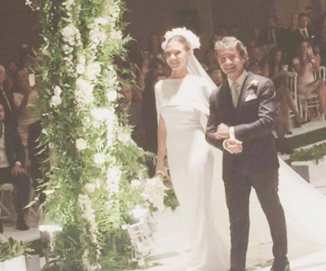 Ünlü işadamı Cem Hakko, eski eşi Betina Machler ile evliliğinden dünyaya gelen kızı Pia'nın mürüvvetini gördü. Hakko, kısa bir süre önce kızını Kerim Yeşil ile evlendirdi.