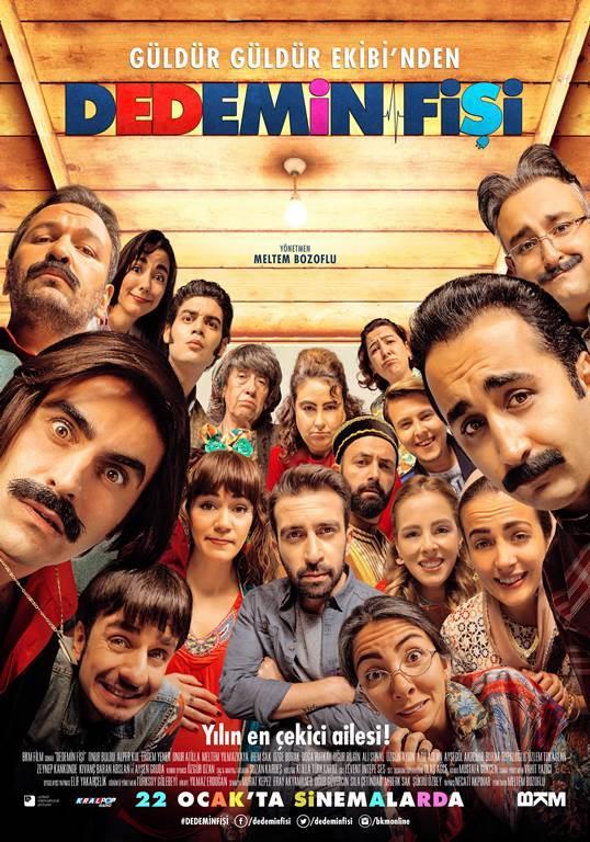 Dedemin Fişi   Televizyon ekranlarının sevilen programı Güldür Güldür ekibini biraraya getiren Dedemin Fişi filminin hikayesi Yılmaz Erdoğan'a, yönetmenliği ise Meltem Bozoflu'ya ait.