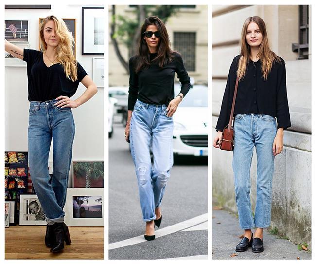 Mom Jeans  2016 yılında hızlı bir çıkış yapan ve skinny jeanleri kenara fırlatmamıza sebep olan mom jeansler 2017'de de tahtını kimseye kaptırmayacak.
