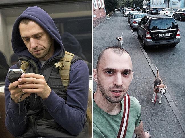 Tsetkov 6 hafta boyunca St. Petersburg metrosunda karşılaştığı yabancıları fotoğraflayıp ardından Findface adlı yüz tanıma uygulamasıyla bu yabancıların sosyal medya hesaplarına ulaşıyor.