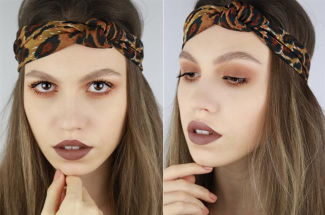 Kahverengi Dudaklar   Trendliğini yitirmeyen kahverengi rujlar, mutlaka denemeniz gereken makyaj modasında yer almayı başarıyor!